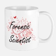 Forensic Scientist Artistic Job Design with B Mugs