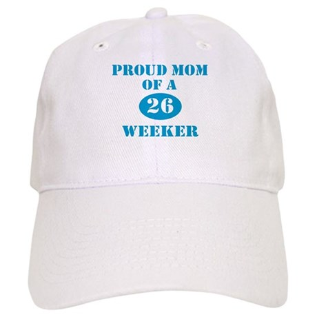 Proud Mom 26 Weeker Cap