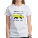 Christmas Off Road Truck Women's T-Shirt