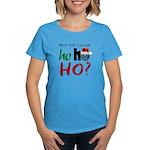 Who You Callin' Ho Women's Aqua T-Shirt