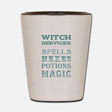 WITCH SERVICES Shot Glass