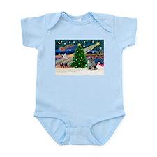 Xmas Magic & Keeshond Infant Bodysuit