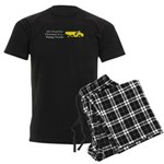 Christmas Dump Truck Men's Dark Pajamas