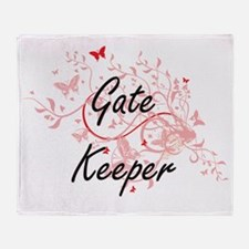 Gate Keeper Artistic Job Design with Throw Blanket