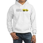 Christmas Dump Truck Hooded Sweatshirt