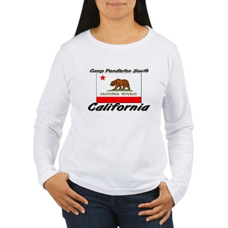 Camp pendleton south california women 39 s long sleeve t for Women s long sleeve camp shirts