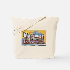 Milwaukee Wisconsin Greetings Tote Bag