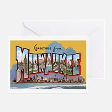Milwaukee Wisconsin Greetings Greeting Card