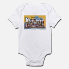 Milwaukee Wisconsin Greetings Infant Bodysuit