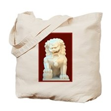 Guardian Lion Tote Bag