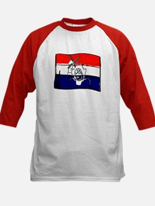 Dutch flag with sketch Tee