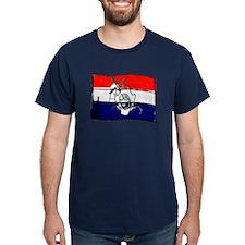 Dutch flag with sketch T-Shirt