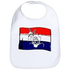 Dutch flag with sketch Bib