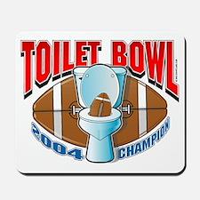 Fantasy Football Toilet Bowl Mousepad