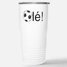 Ole - Football (Soccer) Chant Black Text Travel Mu