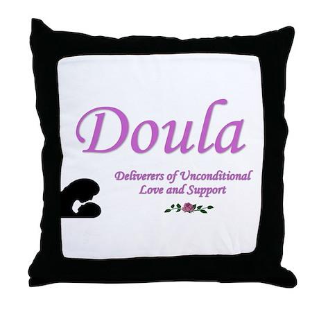 Doula Throw Pillow