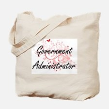 Government Administrator Artistic Job Des Tote Bag