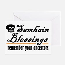 samhain one Greeting Card