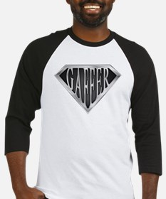 SuperGaffer(metal) Baseball Jersey