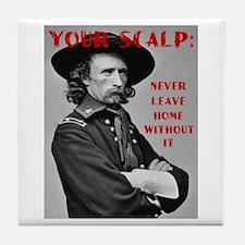 Your Scalp Tile Coaster