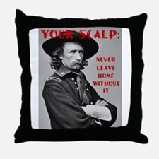 Your Scalp Throw Pillow