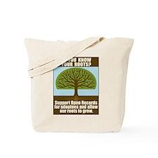 Open Records Tote Bag