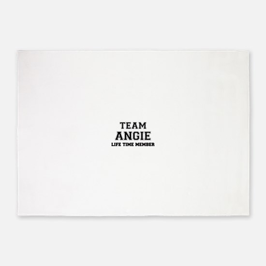 Team ANGIE, life time member 5'x7'Area Rug