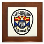 Chandler Police Framed Tile