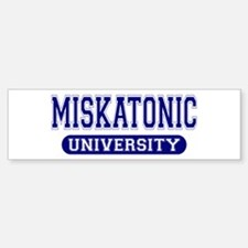 Miskatonic University Bumper Bumper Bumper Sticker