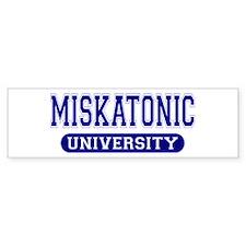 Miskatonic University Bumper Bumper Sticker