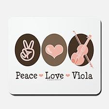 Peace Love Viola Mousepad