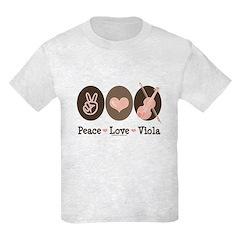 Peace Love Viola T-Shirt
