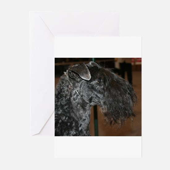 kerry blue terrier Greeting Cards