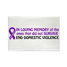 In memory Rectangle Magnet