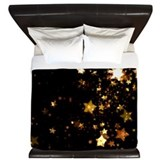 Gold and black King Duvet Covers