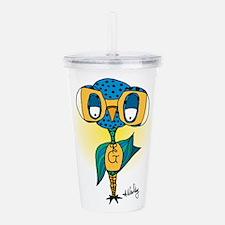 super gooniebird in co Acrylic Double-wall Tumbler