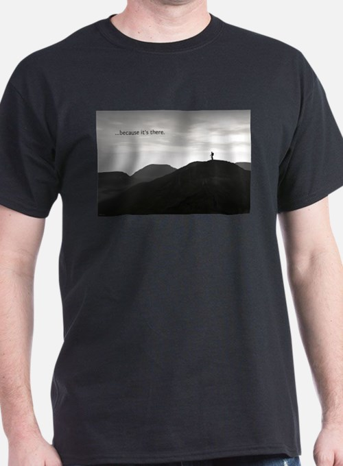 Because It's There T-Shirt