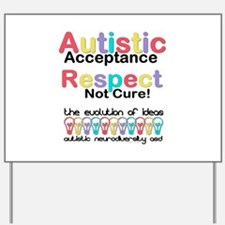 Autistic Acceptance Yard Sign