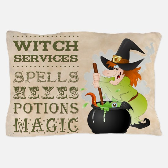 WITCH SERVICES Pillow Case