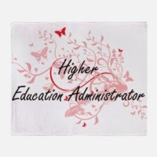 Higher Education Administrator Artis Throw Blanket