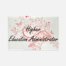 Higher Education Administrator Artistic Jo Magnets