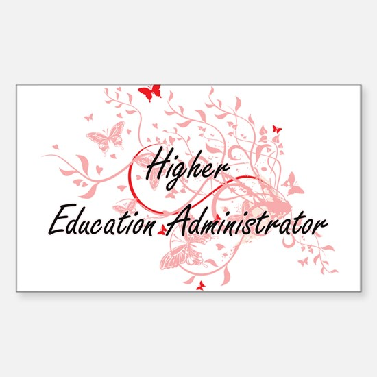 Higher Education Administrator Artistic Jo Decal