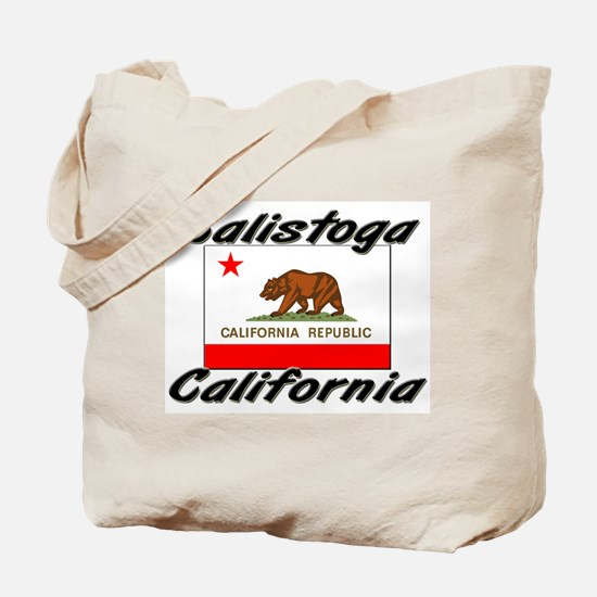 Calistoga California Tote Bag