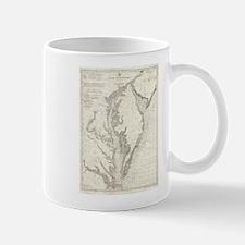 Vintage Map of The Chesapeake Bay (1893) Mugs