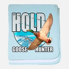 Goose Hunter baby blanket
