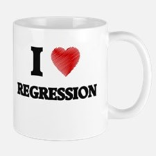 I Love Regression Mugs