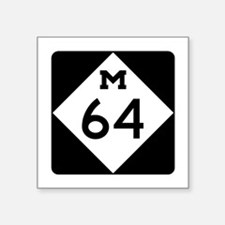 Michigan Highway 64 Sticker