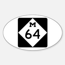 Michigan Highway 64 Decal