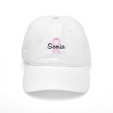 Sonia pink ribbon Baseball Cap
