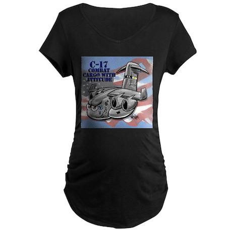 C-17 Globemaster III Maternity Dark T-Shirt